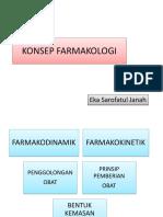 KONSEP FARMAKOLOGI