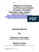 Solution Manual for Financial Accounting Theory and Analysis Text and Cases 11th Edition Schroeder, Clark, Cathey