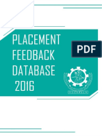 Recruitment Feedback 2015-16