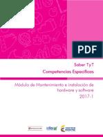 Guia de Orientacion Mantenimiento e Instalacion de Hardware y Software Saber Tyt 2017 1 v2