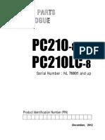 PC210LC-8 SPC 18-12-2012