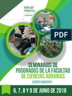Seminarios de Posgrados de la Facultad de Ciencias Agrarias