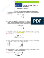 Taller 8 Trabajo Energia Uc Fisica 2018-1