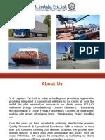 V R Logistics Profile