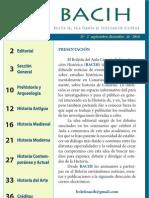 Boletín del Aula Canaria de Investigación Histórica nº 2 (BACIH 2)