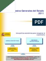 Presupuestos Generales del Estado para 2011