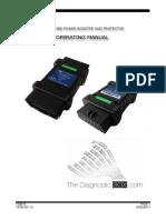 TDB013 Manual