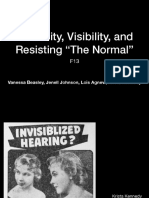 Invisibilized Hearing slides
