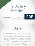 1.2. Arte y estética