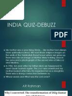 India Quiz Debuzz