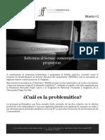 Propuestas Proyecto de Fortalecimiento Al Sernac