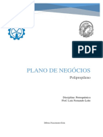 Plano de Negócios Em Petroquímica - Polipropileno