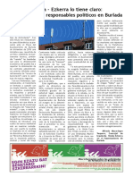 """Artículo """"La antena y sus responsables políticos en Burlada"""""""