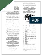 Língua Portuguesa - 06º Ano - Educação Básica - Gênero Discursivo Canção.