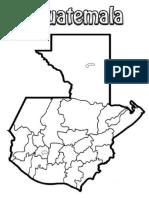 Mapa de Guatemala y Culturas de Guatemala