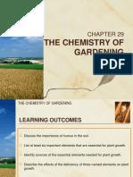 C29 the Chemistry of Gardening