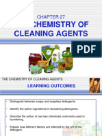 C27 the Chemistry of Cleaning Agents