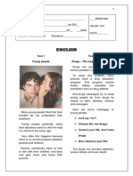 English Test - 09th Grade!