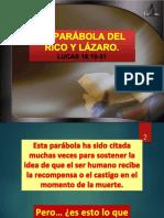 La Parábola Del Rico y Lázaro.