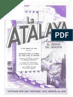 La Atalaya 15 de marzo de 1960