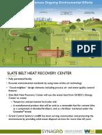 Synagro Technologies Inc. Slate Belt Heat Recovery Center