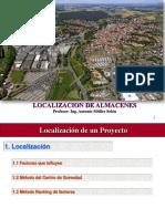 Localizacion de Almacenes