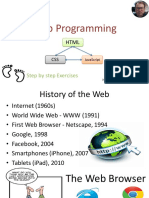 Introduction to Web Programming
