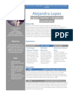 Cv Template Profile