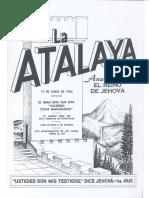 La Atalaya 15 de junio de 1960