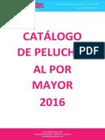 Catalogo de Peluches