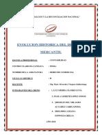 Evolucion Historica Del Derecho Mercantil Enviar