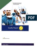 """UMMC """"Quality Report"""""""