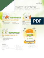 Tanzania Distributor Starter Kit Options LR