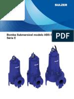 ScavengerSubmersiblePump Bp E10237 BombaSubmersivelScavenger