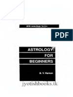 Astrology for Beginners BVRaman_text