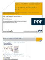 SAP Business Objects Financial Consolidation (Mar 17th 2010)