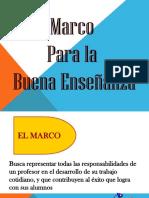 Ppt Marco Buena Enseñanza