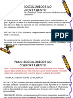 Fund Sociológicos Do Comportamento