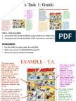 Task 1 - Writing Guide