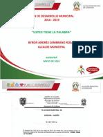 Plan de Desarrollo. Ustedtienelapalabra 2016 - 2019