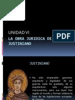 La Obra Juridica de Justiniano.