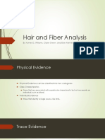 hair and fiber analysis forensic science final