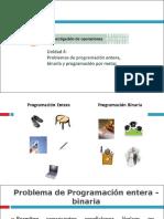 Programacion Entera Binaria