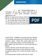 Equivalencia Logica Luiz Exercicios 667427