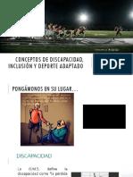 Conceptos de discapacidad
