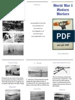 history brochure project