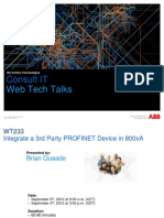 WT233 800xA Integrate Profinet Device
