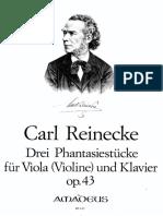 Reinecke - Viola, Piano