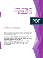 Business Strategy and Analysis of Unilever BD.