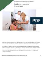 28-05-18 - Opinión Sonora - Entrega Gobernadora becas y supervisa ampliación en centros de salud